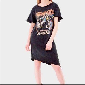 NWT Eleven Paris Aerosmith concert T shirt dress